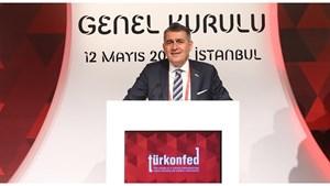 12 Mayıs 2018 / TÜRKONFED Yönetim Kurulu Başkanı Orhan Turan - Genel Kurul Konuşma Metni