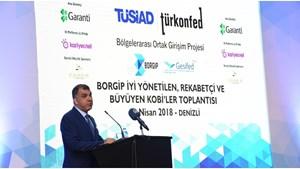 13 Nisan 2018 / TÜRKONFED Başkanı Tarkan Kadooğlu - BORGİP Denizli Toplantısı Konuşma Metni