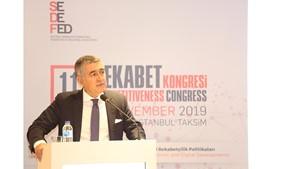 21 Kasım 2019 - TÜRKONFED Başkanı Orhan Turan'ın 11. Rekabet Kongresi Konuşma Metni