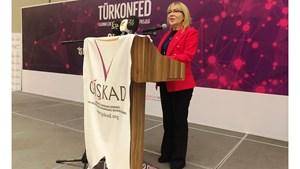 25 Ocak 2018 / TÜRKONFED İDK Komisyonu Başkanı Yasemin Açık - GİŞKAD Mersin Toplantısı Konuşma Metni