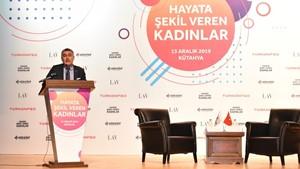 5 Aralık 2019 - TÜRKONFED Başkanı Orhan Turan'ın Hayata Şekil Veren Kadınlar Kütahya Konuşma Metni
