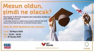 Esas Sosyalin İlk Fırsat Programı Yeni Mezunlara Okuldan İşe Geçiş Desteği Sunuyor