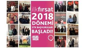 İlk Fırsat 2018 Dönemi STK Başvurularıyla Başladı