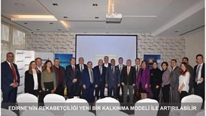 """Kadoğlu: """"Edirne'nin Rekabetçiliği Yeni Bir Kalkınma Modeli ile Artırılabilir"""