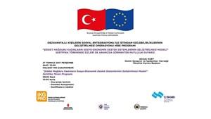 Şiddet Mağduru Kadınlar için Geliştirilen Projenin Sertifika Töreni Ankarada Düzenleniyor