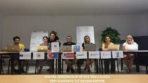 Sosyal Girişimcilik ve KSS Yolculuğu  YEP Slovakya ile Devam Ediyor