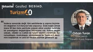 Türk Turizminde Dönüşüm 40 Zirvesi Bodrumda düzenlendi