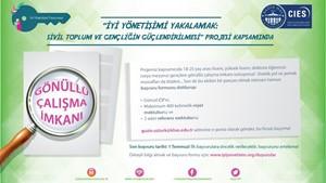 Türkiyenin Önde Gelen STKlarında Gönüllü Çalışma İmkanı
