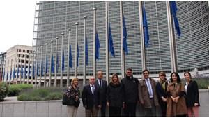 TÜRKONFED Genel Sekreterleri ABnin Kalbi Brükselde Önemli Temaslarda Bulundu