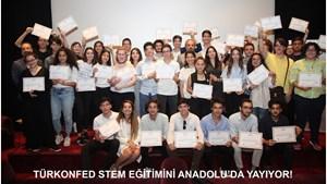 TÜRKONFED STEM Eğitimini Anadoluya Yayıyor