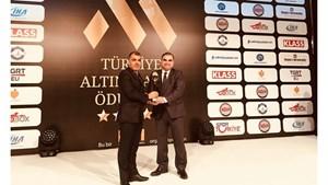 TÜRKONFED Türkiyenin Altın Markası Seçildi