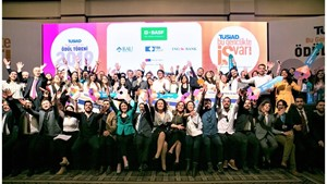 TÜSİAD Bu Gençlikte İŞ Var büyük ödülünün sahibi Algdeha oldu