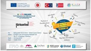 Worth Projesi Kapanış Toplantısı İstanbulda Düzenleniyor