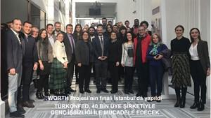 WORTH Projesinin Kapanış Toplantısı İstanbulda Yapıldı