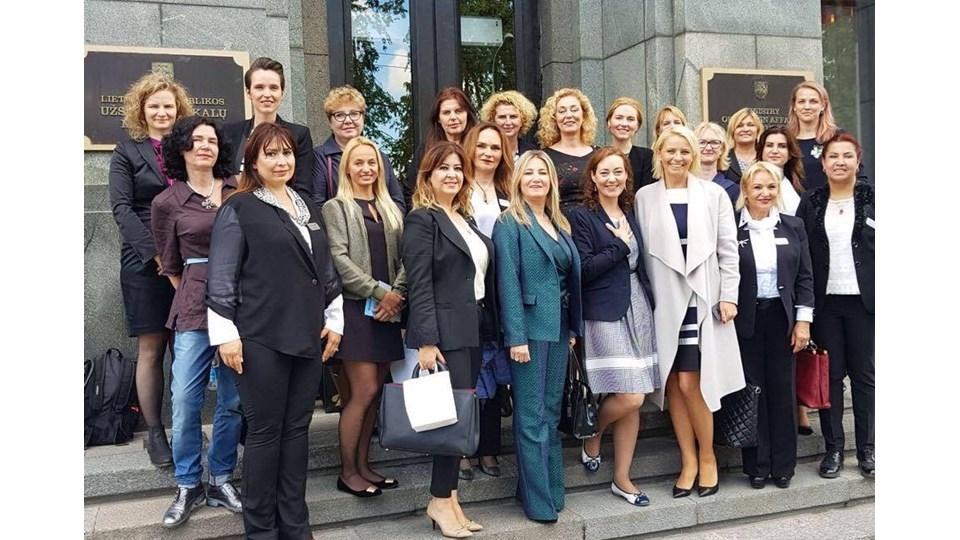 AGİDER Heyeti'nin Yoğun Litvanya Temasları