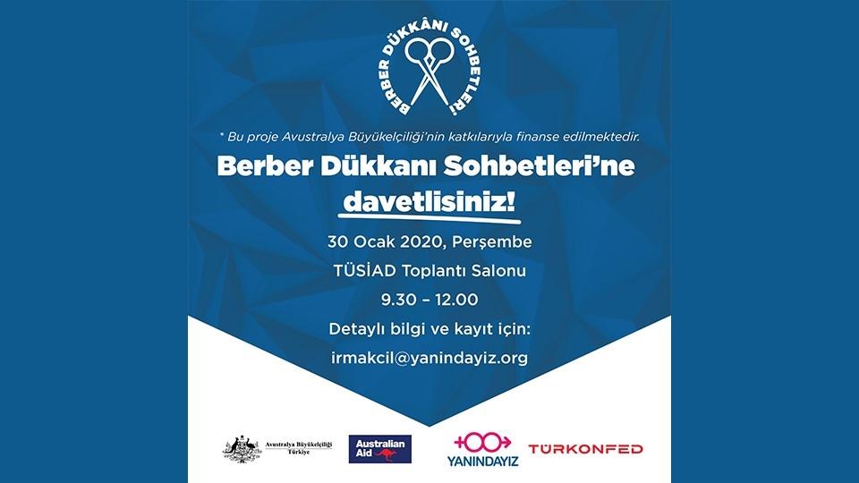 Anadolu'da Berber Dükkanı Sohbetleri İstanbul'da Açılışını Yapıyor!