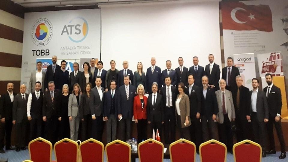 Batı Akdeniz İş Dünyası 'Ticaret Köprüsü'nde Bir Araya Geldi