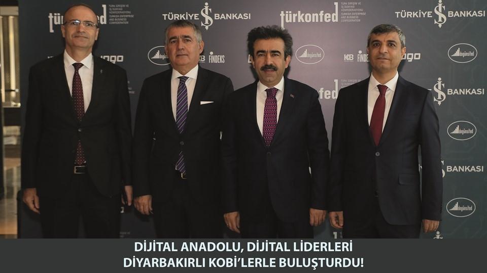 Dijital Anadolu Dijital Liderleri Diyarbakırlı KOBİlerle Buluşturdu