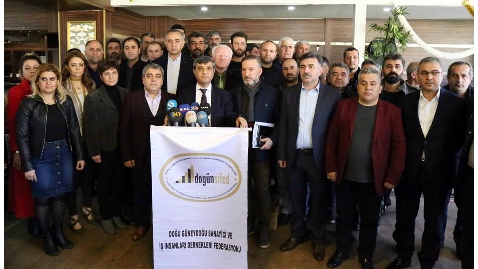 """DOGÜNSİFED Başkanı Özkılıç: """"Taşeron Yasası ile 17 Bin Şirket Kapanma Noktasında!"""""""