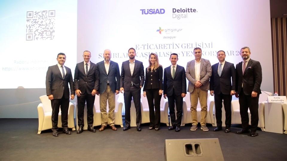 """""""E-Ticaretin Gelişimi, Sınırların Aşılması ve Yeni Normlar"""" raporu tanıtıldı"""