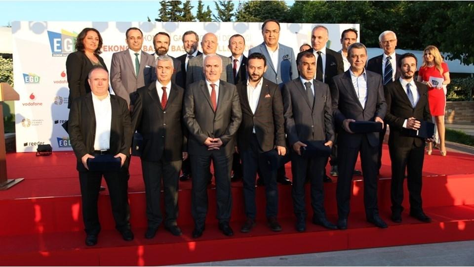 EGD'den TÜRKONFED Başkanı Kadooğlu'na Teşekkür Plaketi
