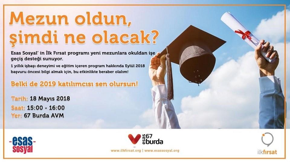 Esas Sosyal'in İlk Fırsat Programı Yeni Mezunlara Okuldan İşe Geçiş Desteği Sunuyor !