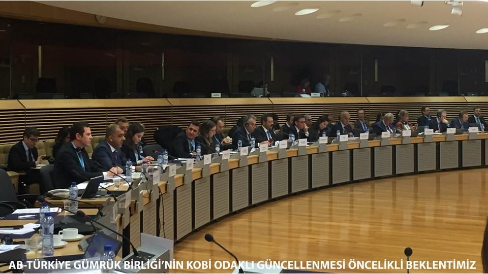 Kadooğlu AB-Türkiye Gümrük Birliğinin KOBİ Odaklı Güncellenmesi Öncelikli Beklentimiz
