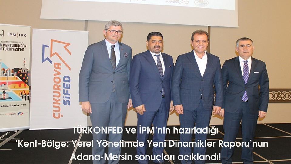 Kent-Bölge: Yerel Yönetimde Yeni Dinamikler Raporu'nun Adana-Mersin sonuçları açıklandı