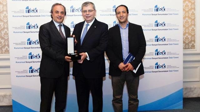 KOPPERT'e Sosyal Sorumluluk Ödülü