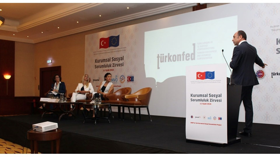 TÜRKONFED - Corporate Social Responsibility Summit