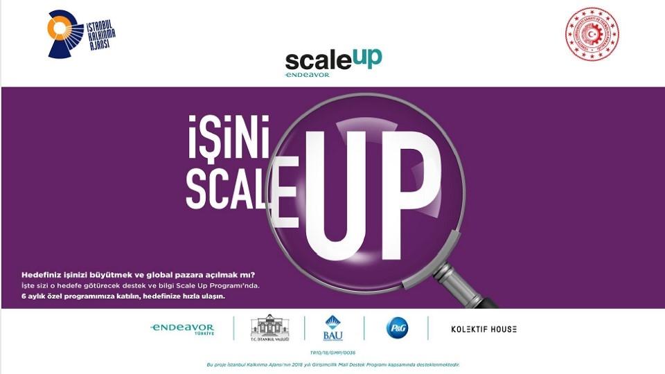ScaleUp Girişimci Hızlandırma Programı'na Başvurular Devam Ediyor