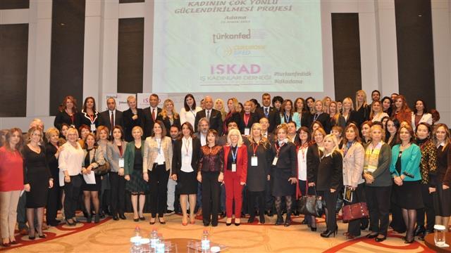 TÜRKONFED President Kadooğlu: 'Participation of women in business is an indicator of development'
