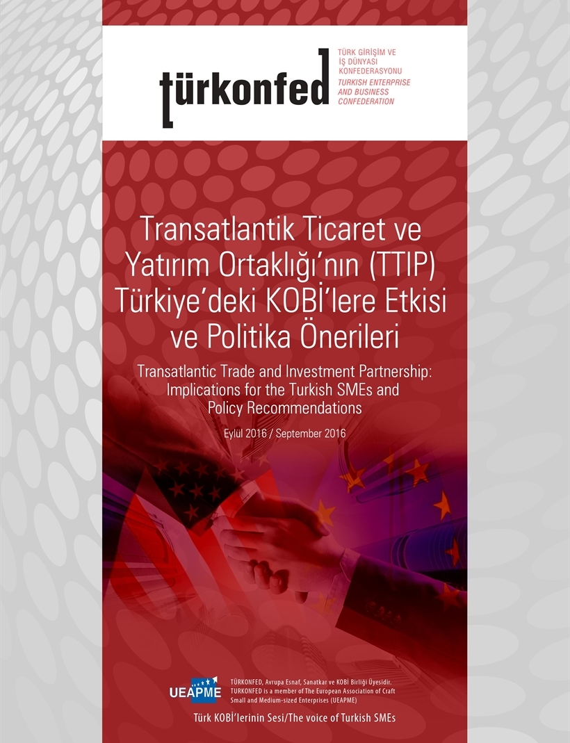 Transatlantic Trade  and Investment Partnership Implications for the Turkish SMEs