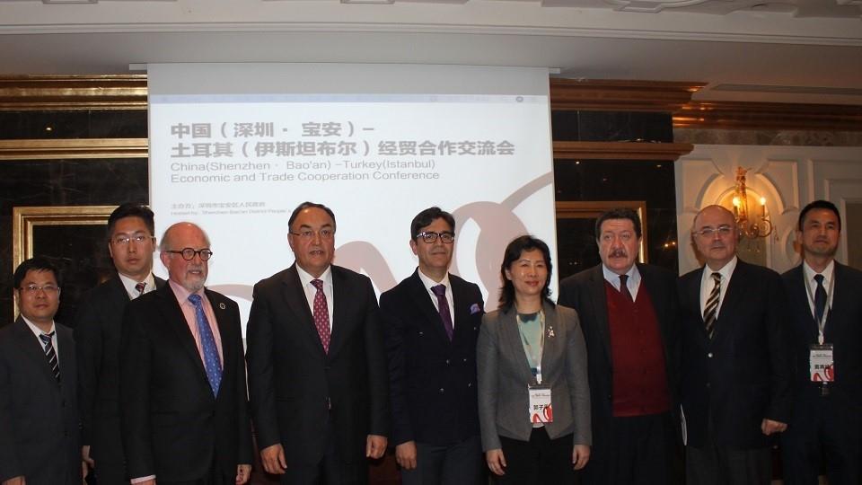 TÜRKONFED-SEDEFED ve ÇİNİŞDER işbirliği ile Türkiye Çin Ticaret Köprüsü Toplantısı Yapıldı