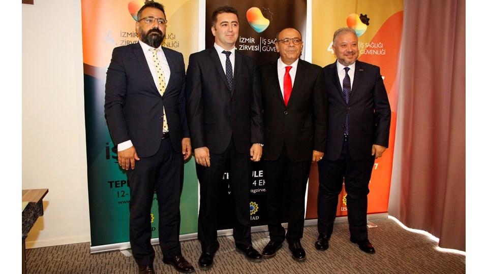 Türkiye'nin İş Sağlığı ve Güvenliği İzmir'de Konuşulacak