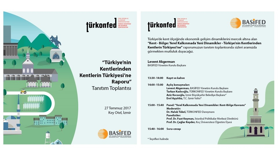 Türkiyenin Kentlerinin Bölgesel Güç Olma Potansiyeli İzmirde Anlatılacak