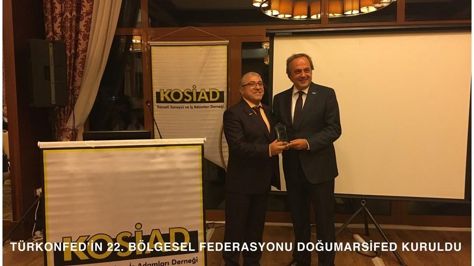 TÜRKONFED'in 22. Bölgesel Federasyonu DOĞUMARSİFED