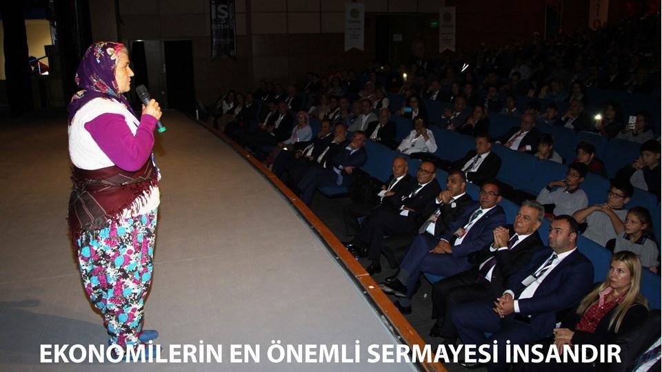 """TÜRKONFED Başkanı Kadooğlu;  """"Ekonomilerin En Önemli Sermayesi İnsandır"""