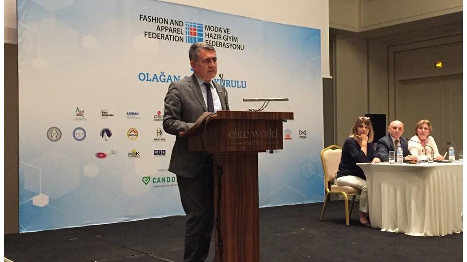 TÜRKONFED Başkanı Turan, MHGF 5. Olağan Genel Kurulu'na Katıldı