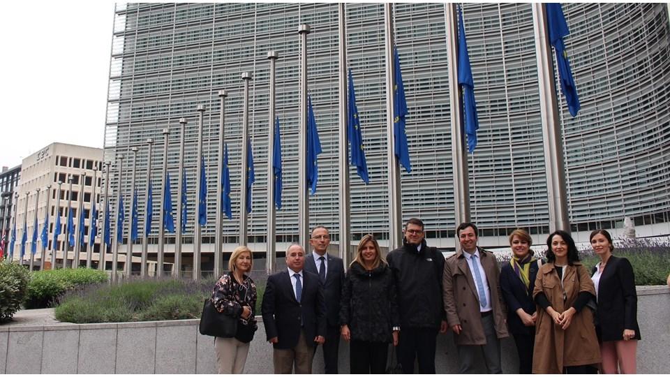 TÜRKONFED Genel Sekreterleri AB'nin Kalbi Brüksel'de Önemli Temaslarda Bulundu!