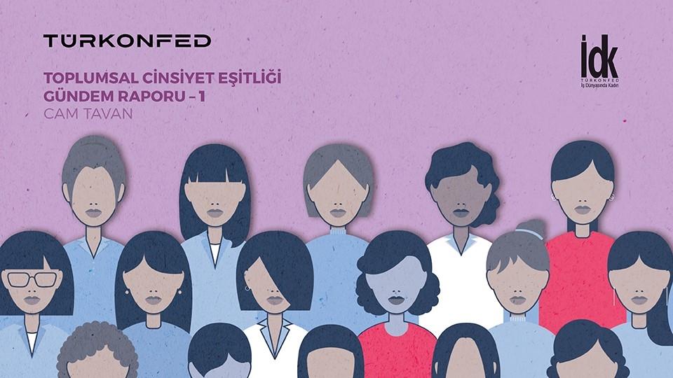 TÜRKONFED İş Dünyasında Kadın Komisyonu İDK İlk Cinsiyet Eşitliği Gündem Raporunu Yayınladı