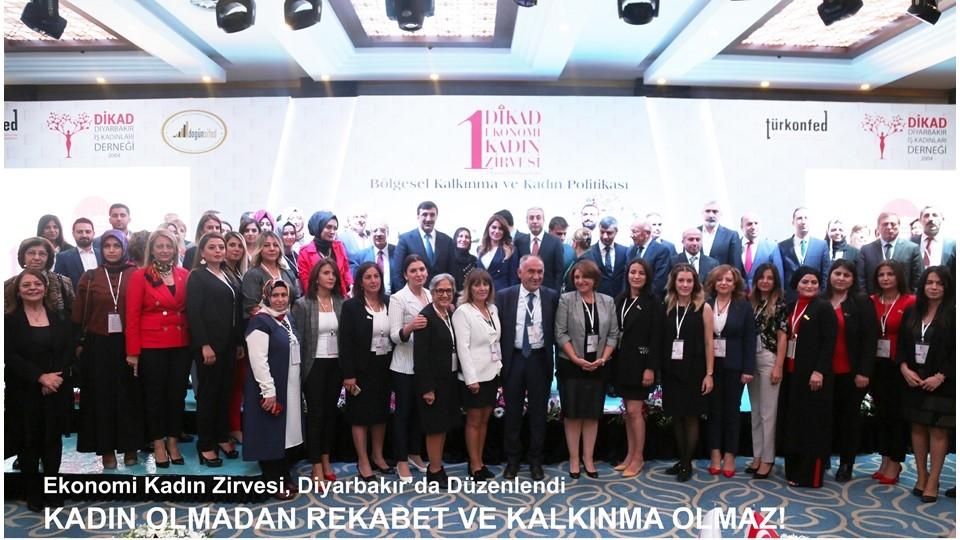 Diyarbakır, 1.Ekonomi Kadın Zirvesi'ne Ev Sahipliği Yaptı