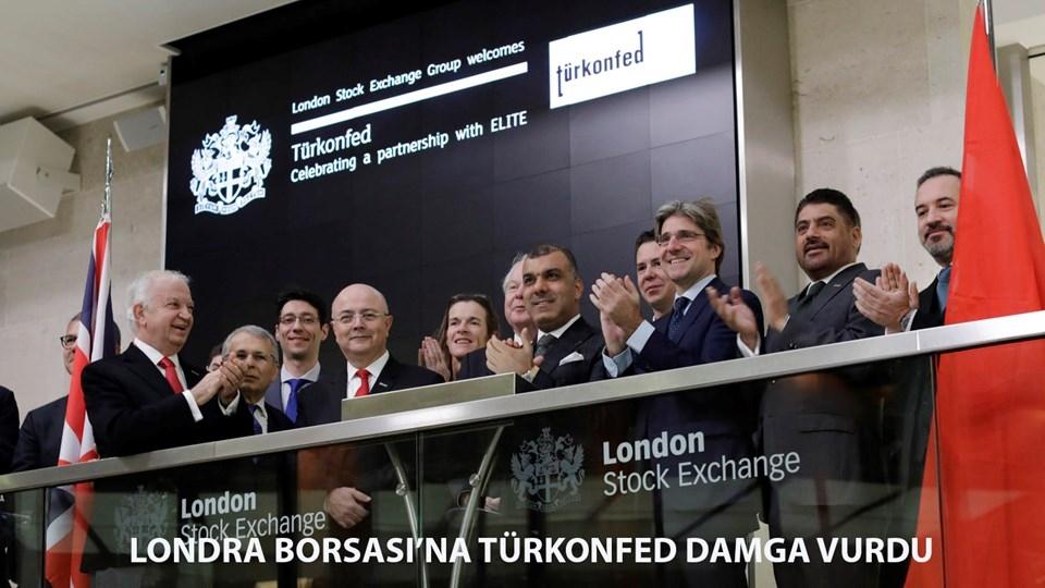 TÜRKONFED ve ELITE Program Londra Borsasına Damgasını Vurdu