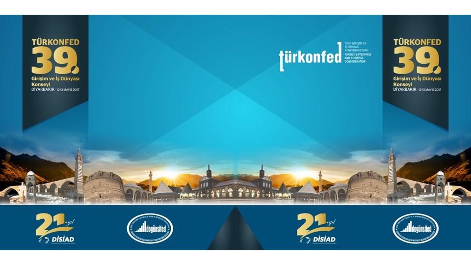 TÜRKONFED, Türk İş Dünyasını Diyarbakır'da Buluşturuyor