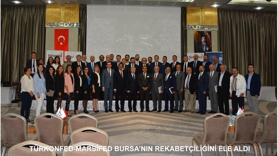 TÜRKONFED Türkiye İçin Bir Rekabet Endeksi Raporu Bursa Toplantısı Gerçekleştirildi