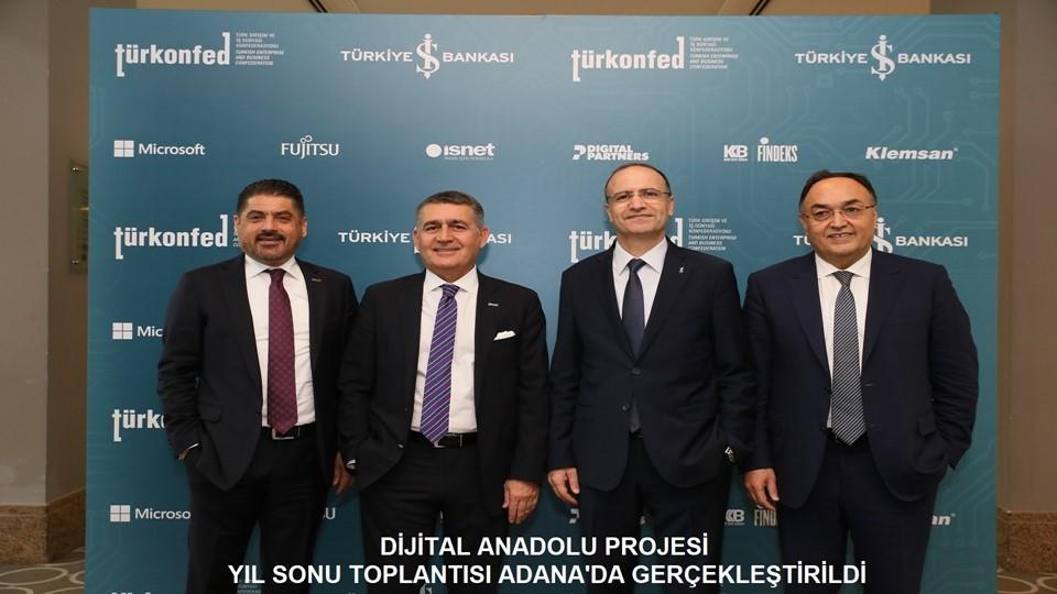 Dijital Anadolu Projesi 2018 Yılı Son Toplantısı Adana'da Gerçekleşti