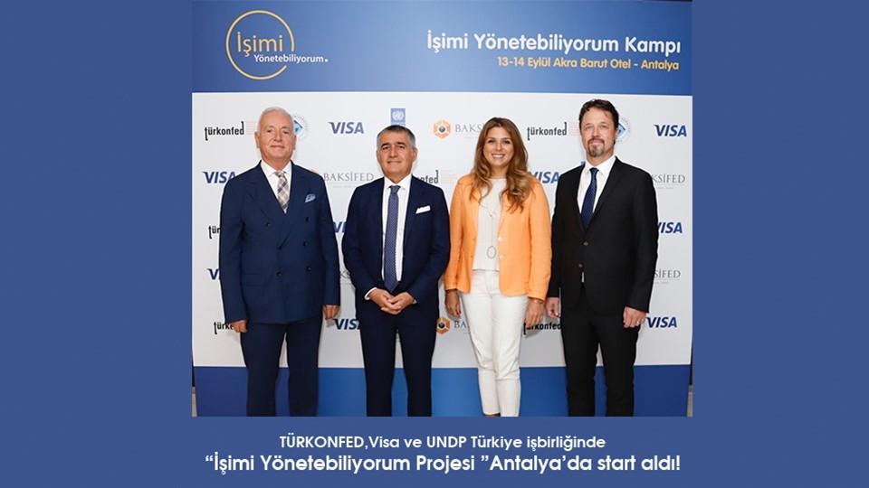 İşimi Yönetebiliyorum Antalyadan start aldı