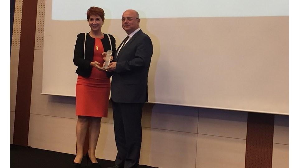 TÜRKONFED, Yılın Sivil Toplum Örgütü Ödülü'ne Layık Görüldü