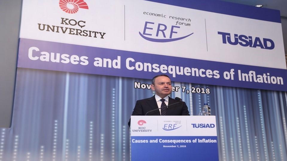 "TÜSİAD ""EkonomiToplantıları""nda Ana Tema Enflasyon"