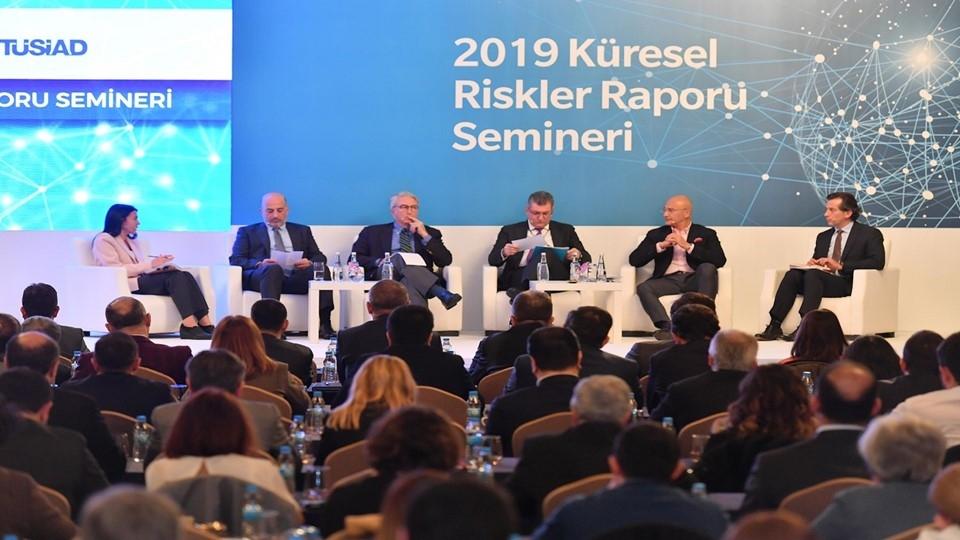 TÜSİAD ve MARSH & ZURİCH 2019 Küresel Riskler Raporu'nu Tanıttı